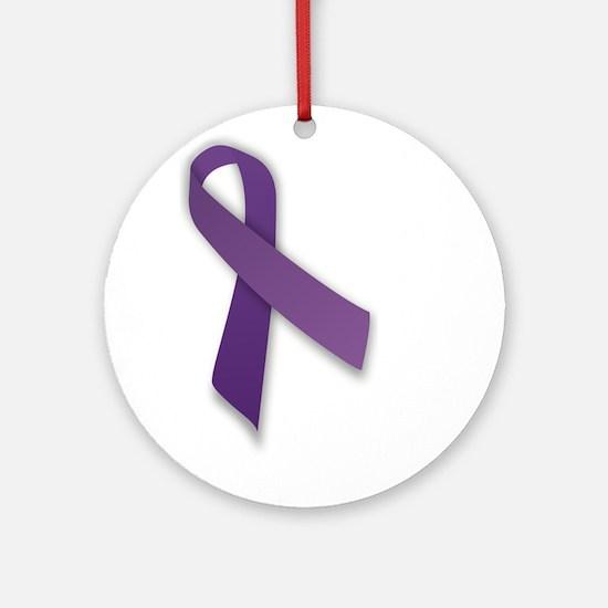 Purple Ornament (Round)