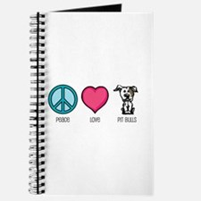 Peace Love & Pit Bulls Journal