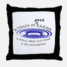 Good Karma Throw Pillow