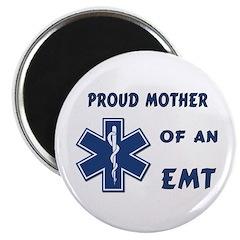 """Proud EMT Mother 2.25"""" Magnet (100 pack)"""