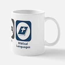 Eat Sleep Biblical Languages Mug