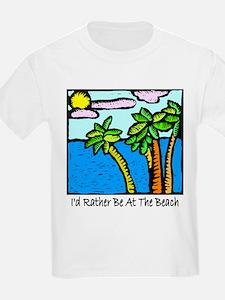 Tropical Beach Vacation T-shi T-Shirt