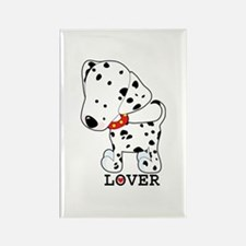 Dalmatian Lover Rectangle Magnet
