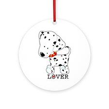 Dalmatian Lover Ornament (Round)