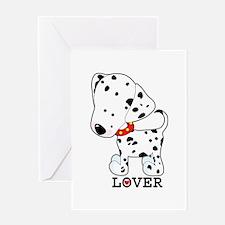 Dalmatian Lover Greeting Card
