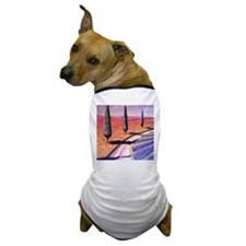 French Lavender Mist Dog T-Shirt