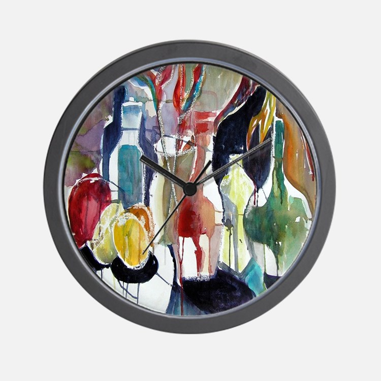 All Bottled Up Wall Clock