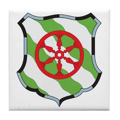 Gutersloh Coat of Arms Tile Coaster