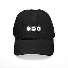 Eat Sleep Bees Baseball Hat