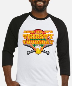 Beer Me Thirsty Thursday Baseball Jersey