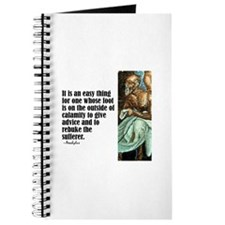 "Aeschylus ""Give Advice"" Journal"