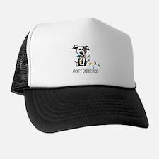 Pit Bull Christmas Lights Trucker Hat
