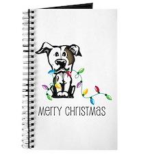 Pit Bull Christmas Lights Journal