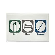 Eat Sleep Bassoon Rectangle Magnet