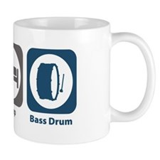 Eat Sleep Bass Drum Mug