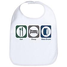 Eat Sleep Bass Drum Bib