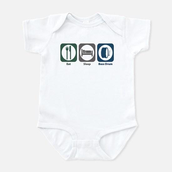 Eat Sleep Bass Drum Infant Bodysuit