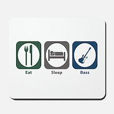 Eat Sleep Bass Mousepad