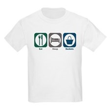 Eat Sleep Baskets T-Shirt