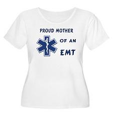 Proud EMT Mother Women's Plus Size Scoop Neck T-Sh