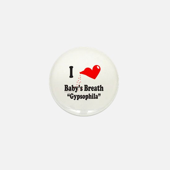 BABY'S BREATH Mini Button