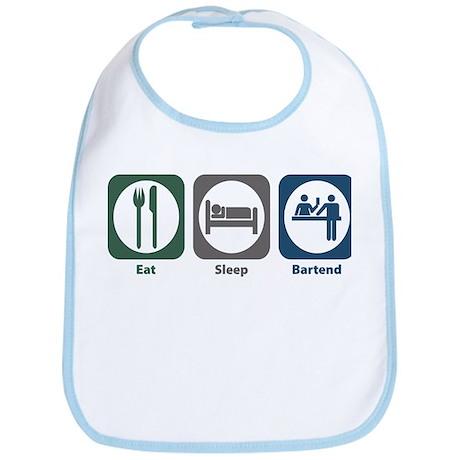 Eat Sleep Bartend Bib