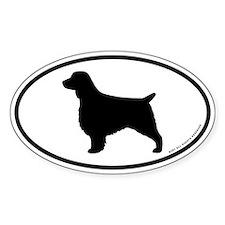 Welsh Springer Spaniel Sticker (oval)