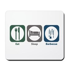 Eat Sleep Barbecue Mousepad