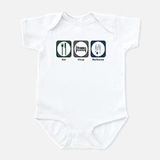 Eat Sleep Barbecue Infant Bodysuit