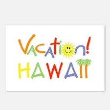 Hawaii Vacation Postcards (Package of 8)