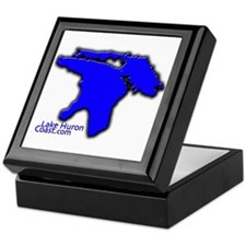 Lake Huron Coast Keepsake Box