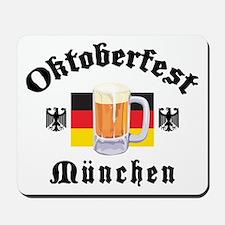 Oktoberfest Munchen Mousepad