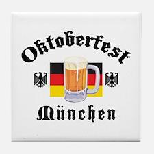 Oktoberfest Munchen Tile Coaster
