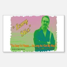 Lewy Stix Rectangle Decal
