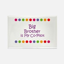 Big Brother is My Co-Pilot Rectangle Magnet