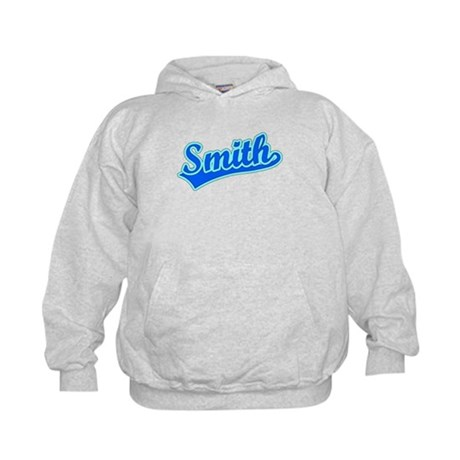 Retro Smith (Blue) Kids Hoodie