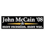John McCain '08 bumper sticker