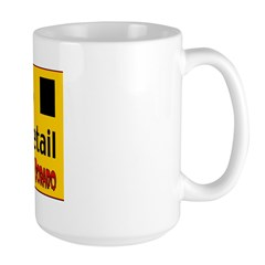 FBI Civil Rights Detail Large Mug