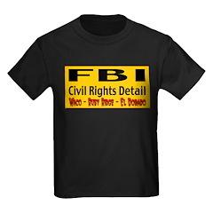 FBI Civil Rights Detail Kids Dark T-Shirt