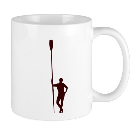 READY TO ROW RED Mug