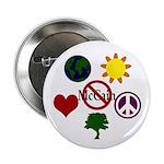 Six Symbols Against McCain Button