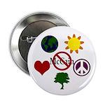 Six Symbol Anti-McCain Buttons (100)