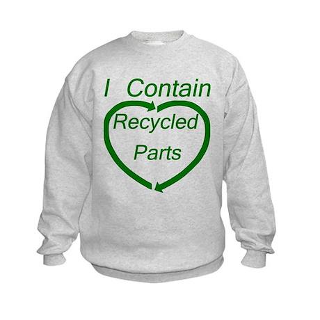 Recyled Parts Kids Sweatshirt