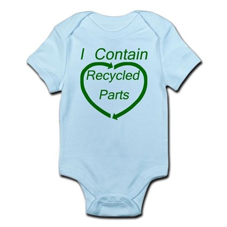 Recyled Parts Infant Bodysuit