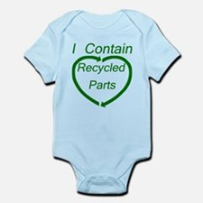 Recyled Parts Infant Bodysuit