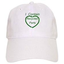 Recyled Parts Baseball Cap