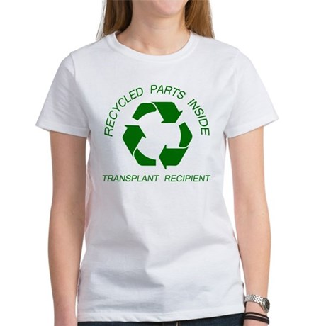 Recycled Parts Inside Women's T-Shirt