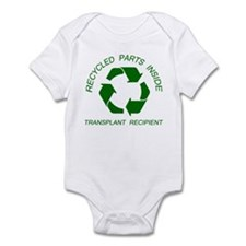 Recycled Parts Inside Infant Bodysuit