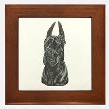 GD Cropped Black Framed Tile