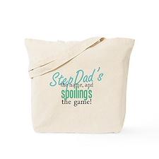 StepDad's the Name! Tote Bag